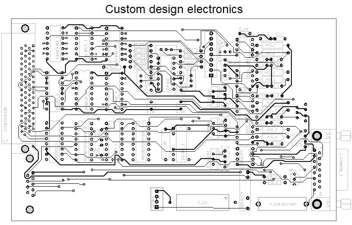 Custom design electronics